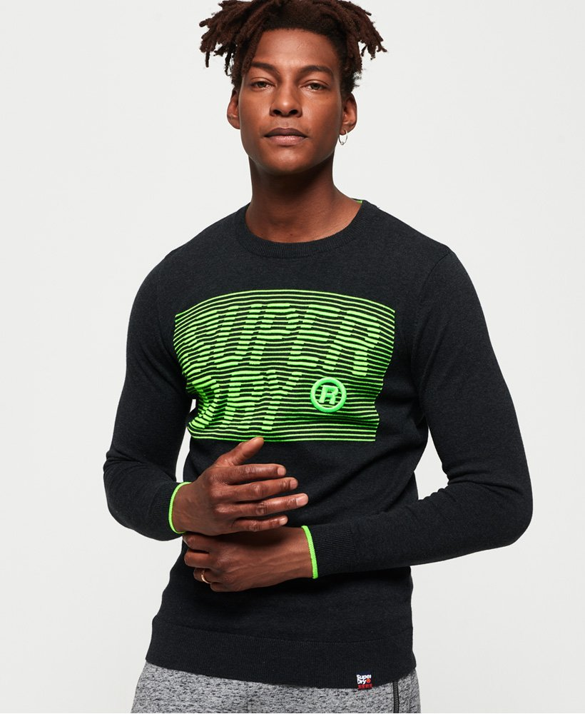 Superdry Speed Logo Crew Jumper thumbnail 1