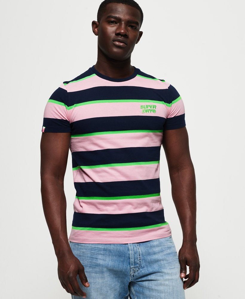 Superdry Stacked Skate Lux Stripe T-shirt thumbnail 1