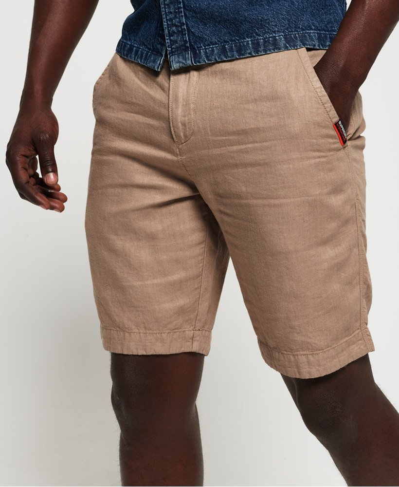 Superdry Short chino en lin International thumbnail 1