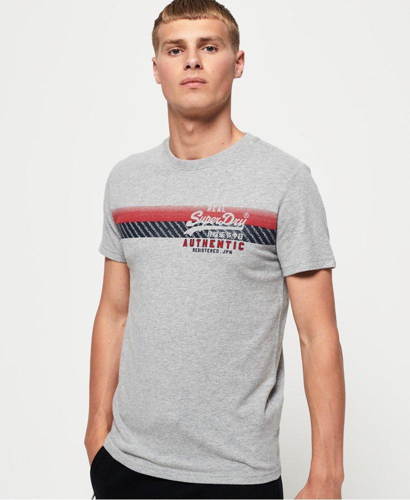 Superdry Vintage Authentic Chest Stripe T-Shirt thumbnail 1