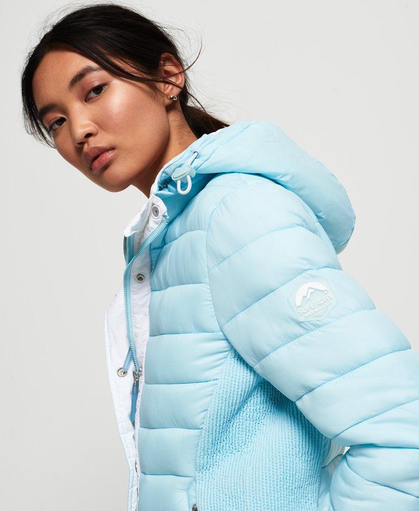 Superdry Fuji Slim Double Zip Hooded Jacket thumbnail 1
