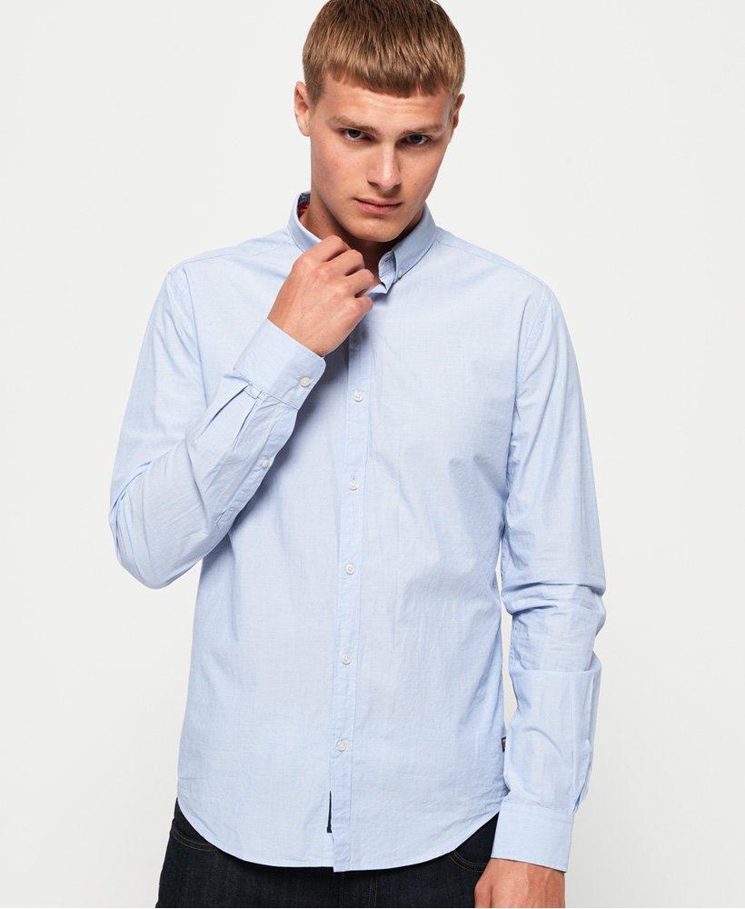 fashion Chemises Blue Superdry superdry Gamme Bleu Chemise