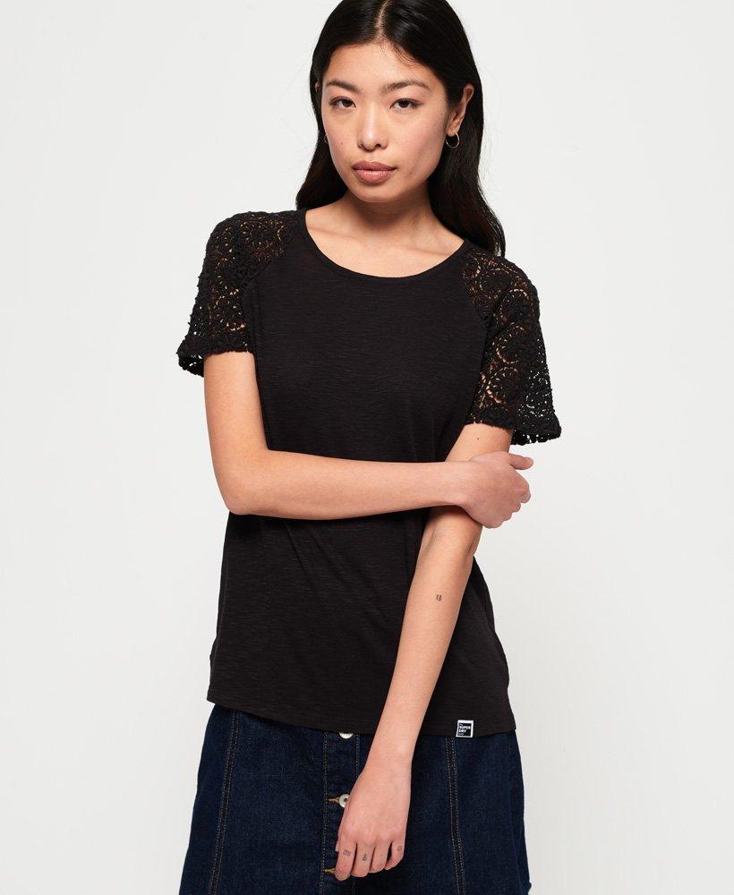 Superdry T-shirt à manches raglan Lace Elisa thumbnail 1