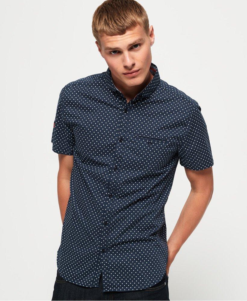 Superdry Premium Shoreditch Print Short Sleeve Shirt thumbnail 1