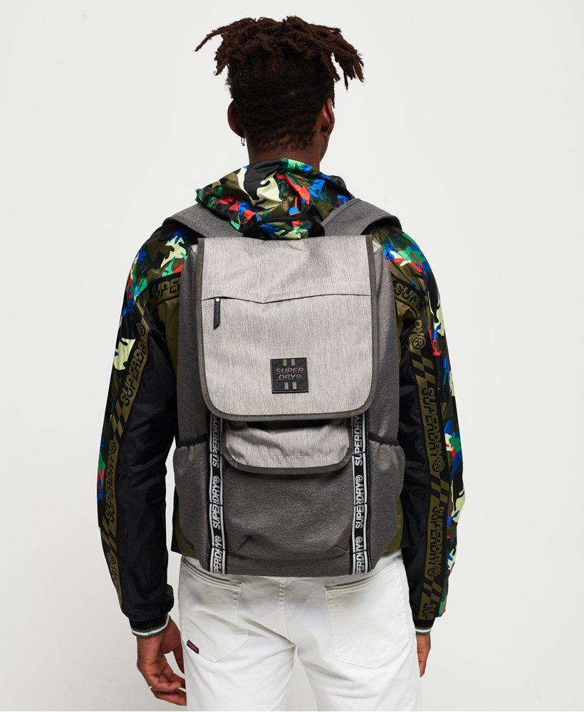 Mens Super Semester Backpack in Grey Ripstop Marlgrey