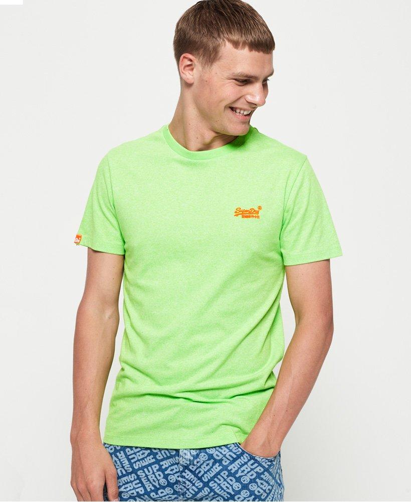 Superdry T shirt poussière fluo Orange Label T shirts
