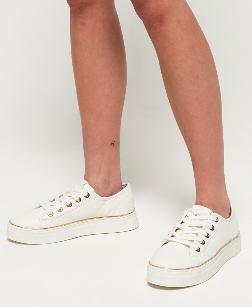 on sale 3e78b 63ebd Elegante Sneaker mit Plateausohle,Damen,Turnschuhe