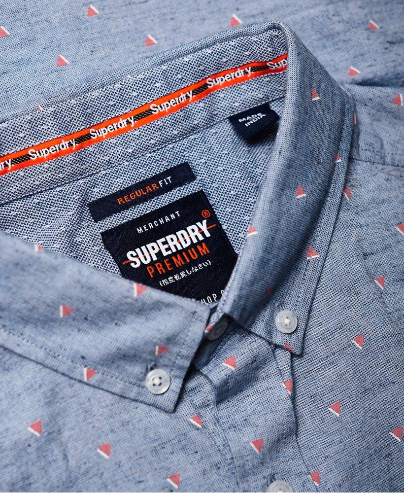 Superdry Premium University Jet skjorte med korte ermer