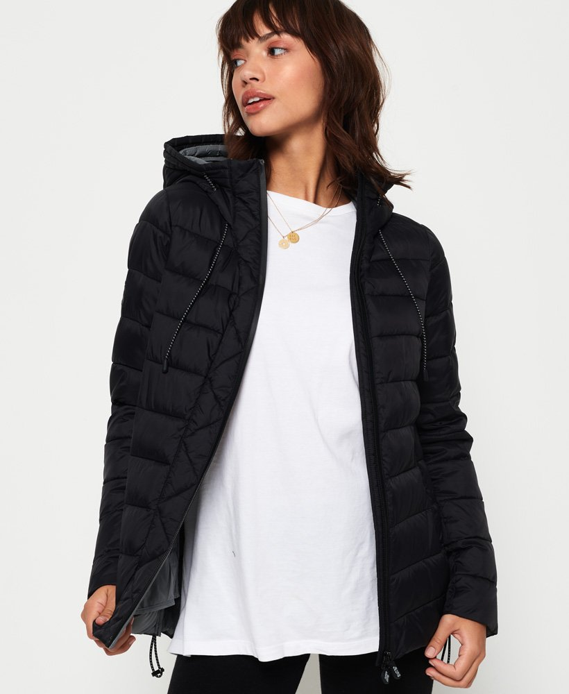 Superdry Eclipse Hooded Fuji Jacket thumbnail 1