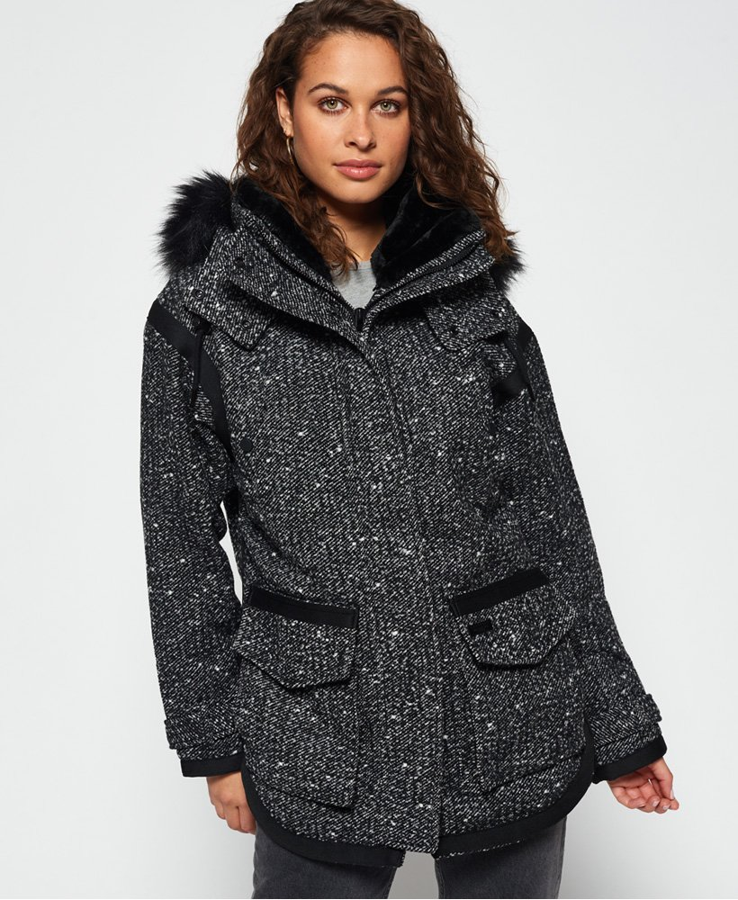 Superdry Fjord Ovoid Parka Coat thumbnail 1