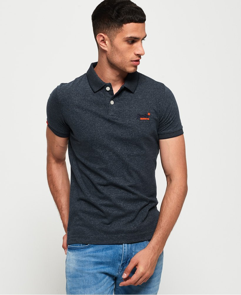 Superdry Polo en jersey Orange Label