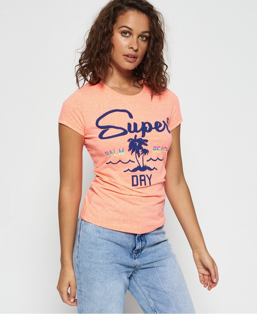 Superdry T-shirt tricolore Tropix thumbnail 1