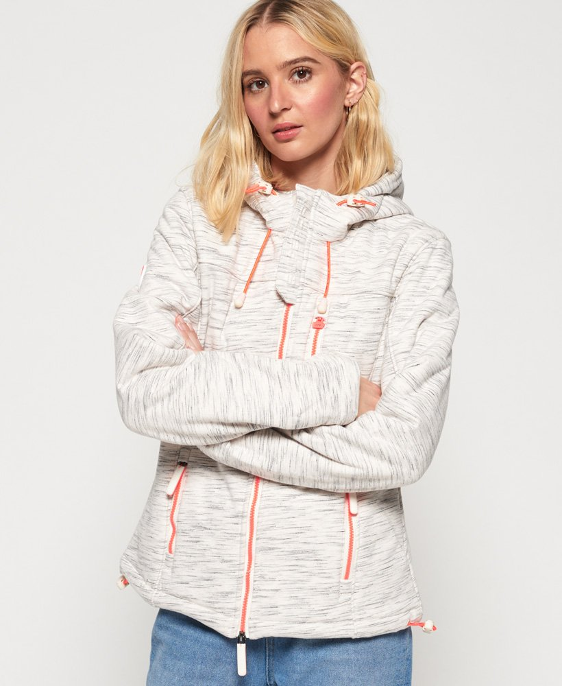 Superdry Hooded Sherpa SD-Windtrekker Jacket thumbnail 1