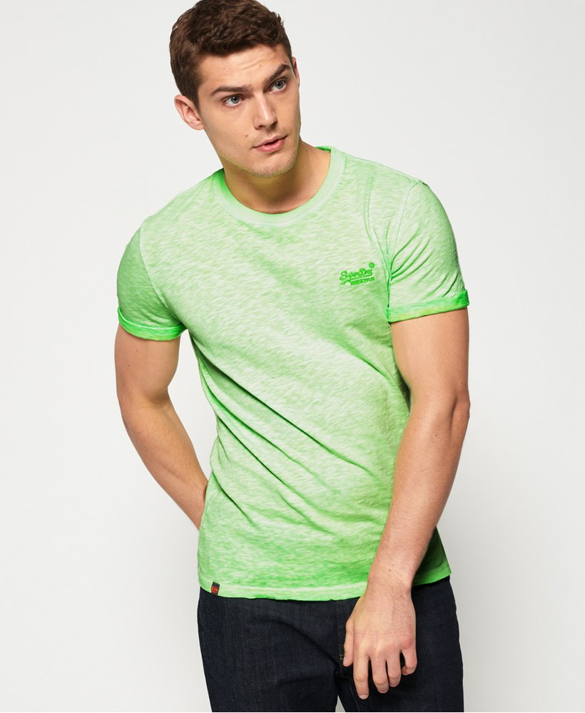 Homme T Shirts | Superdry T shirt Low Roller Vert Surge