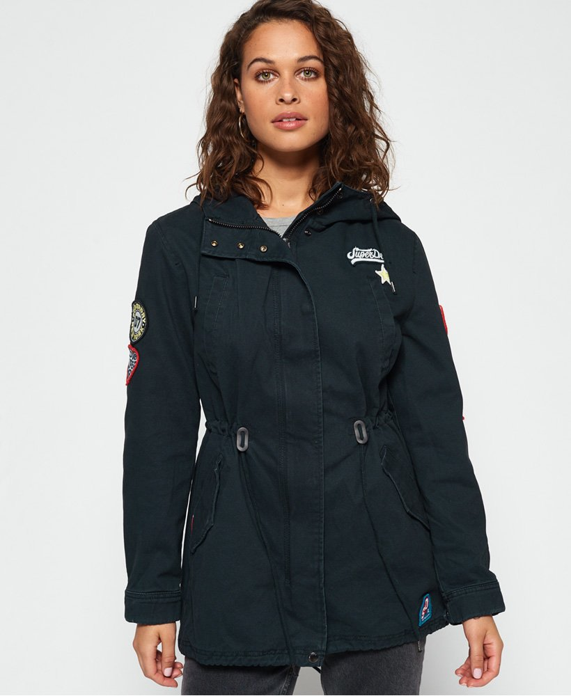 Superdry Pacific Patch Parka Jacket thumbnail 1