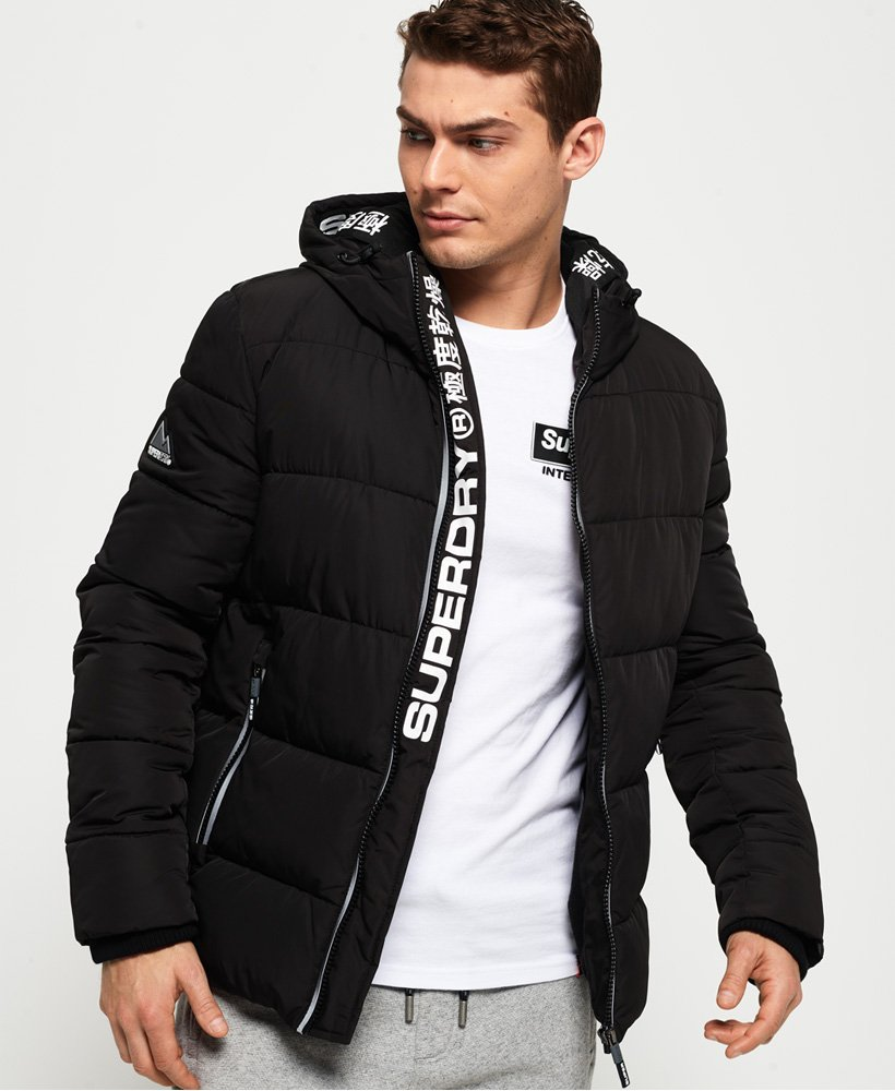 super popular 6de86 bcdd6 Superdry New House Sports Steppjacke - Herren Jacken & Mäntel