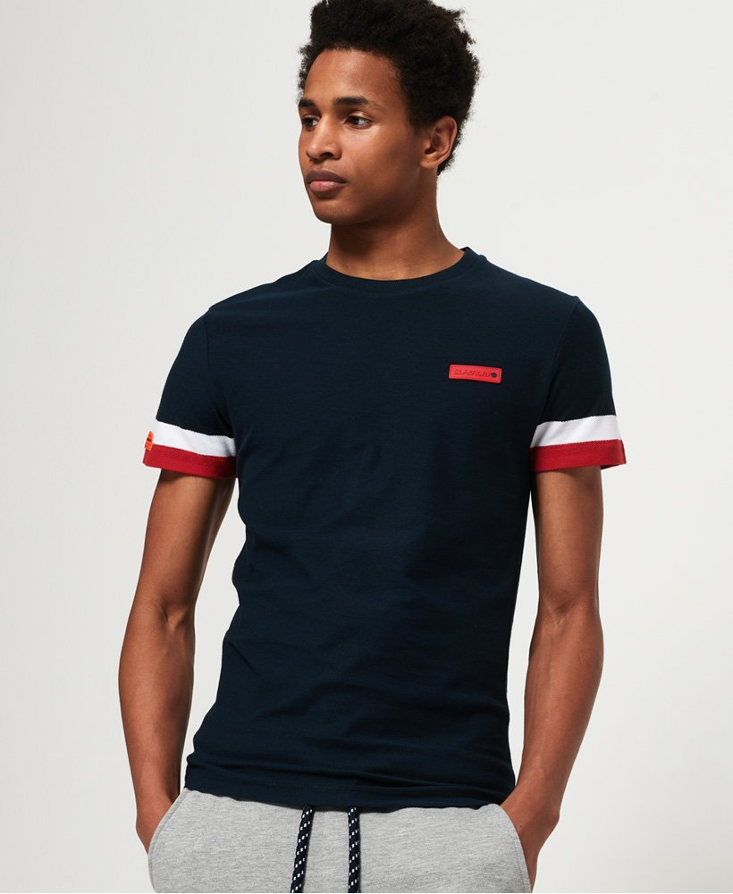 Superdry International Engineered T-shirt thumbnail 1