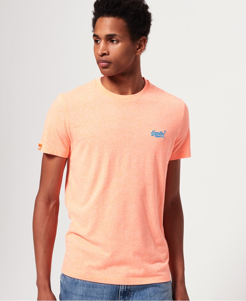 Superdry Orange Label Fluro Grit T-Shirt thumbnail 1