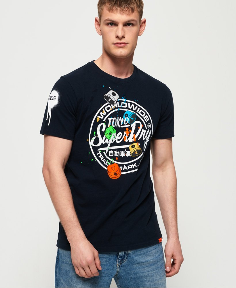 Superdry Top eclipse navy