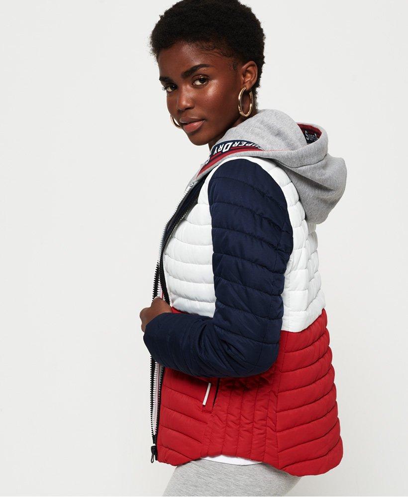 veste de sport superdry femme
