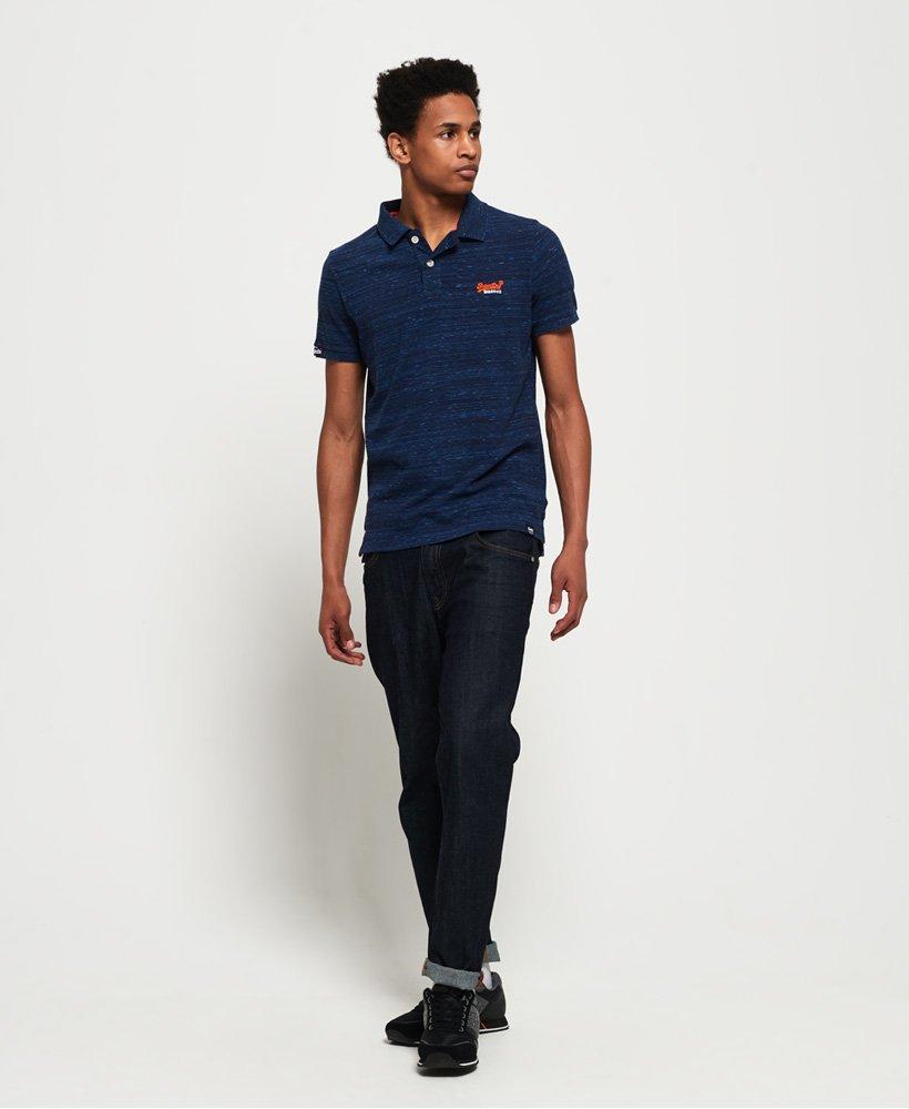 Superdry Orange Label Jersey Polo Hombre
