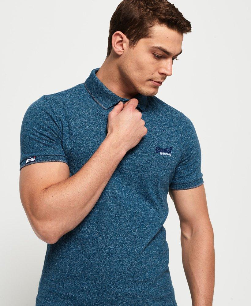 Superdry Orange Label Jersey Polo Shirt  thumbnail 1