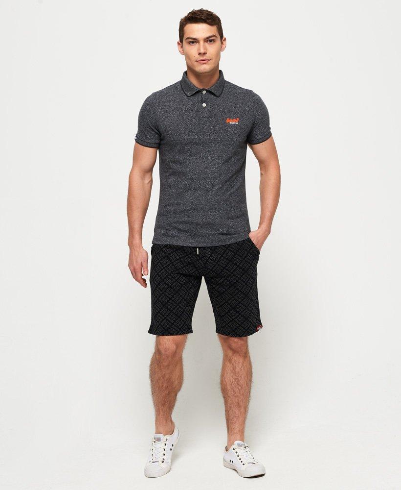 Blue Details about  /Superdry Men/'s Orange Label Jersey Polo Shirt