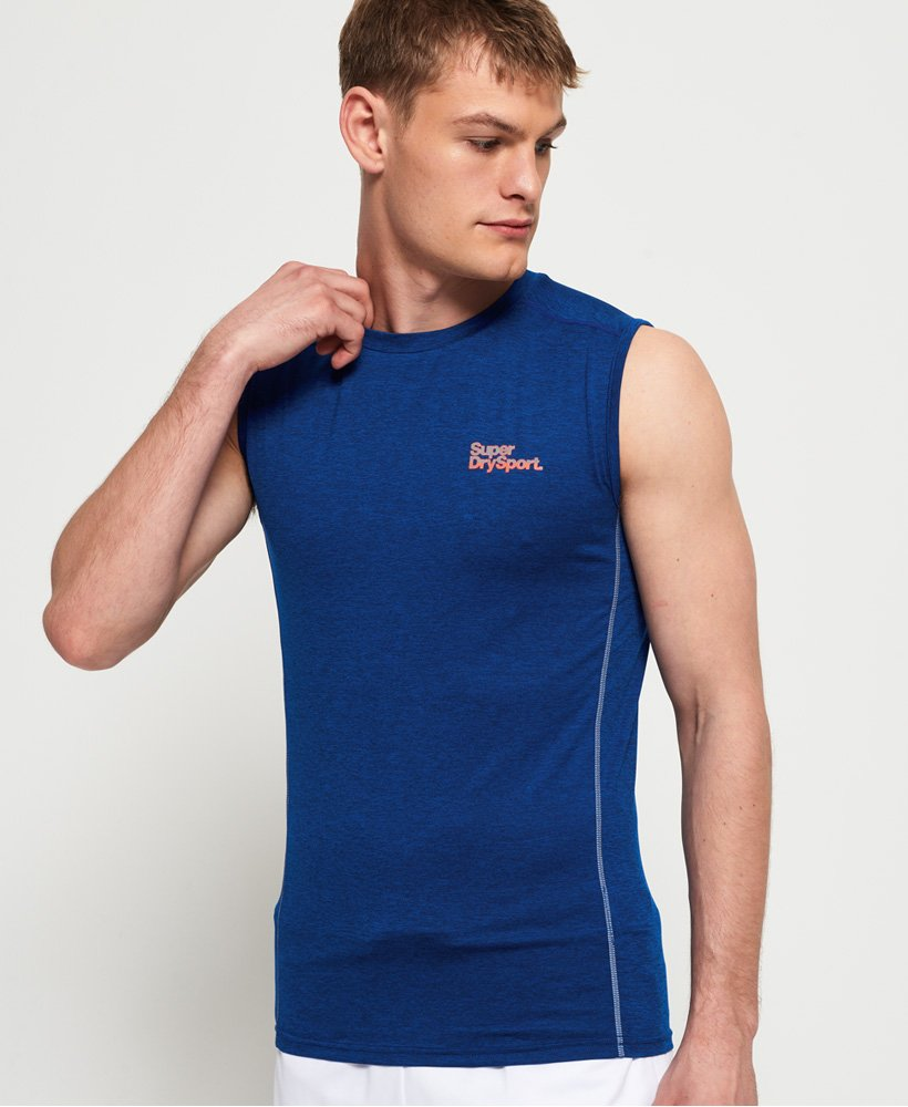 Superdry Active Small Logo Graphic Tank Top thumbnail 1