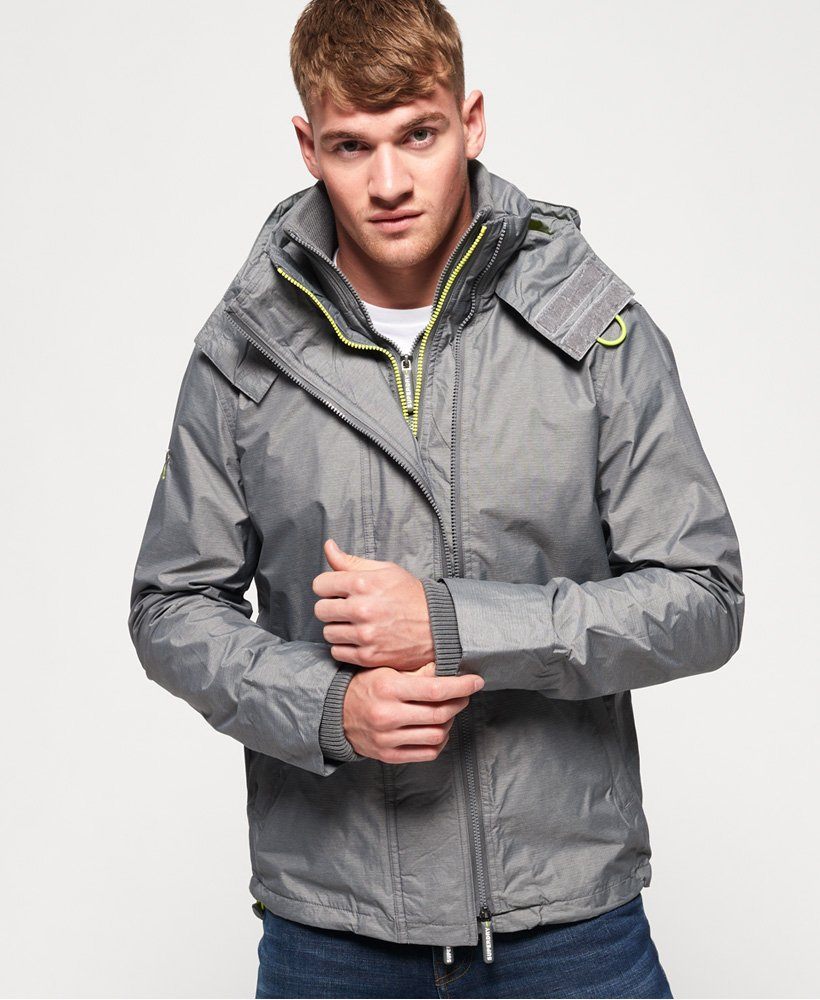 Superdry Tech Hood Pop Zip SD-Windcheater Jacket thumbnail 1