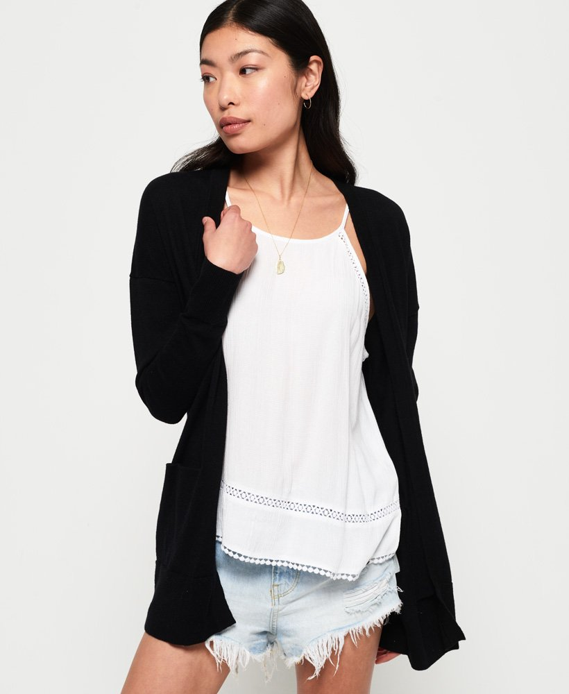 Superdry Cali Lightweight Cardigan thumbnail 1