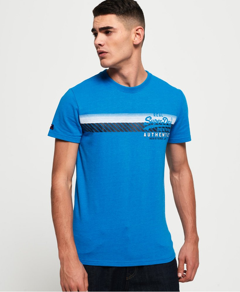 Superdry Vintage Authentic Chest Stripe T-Shirt thumbnail 1