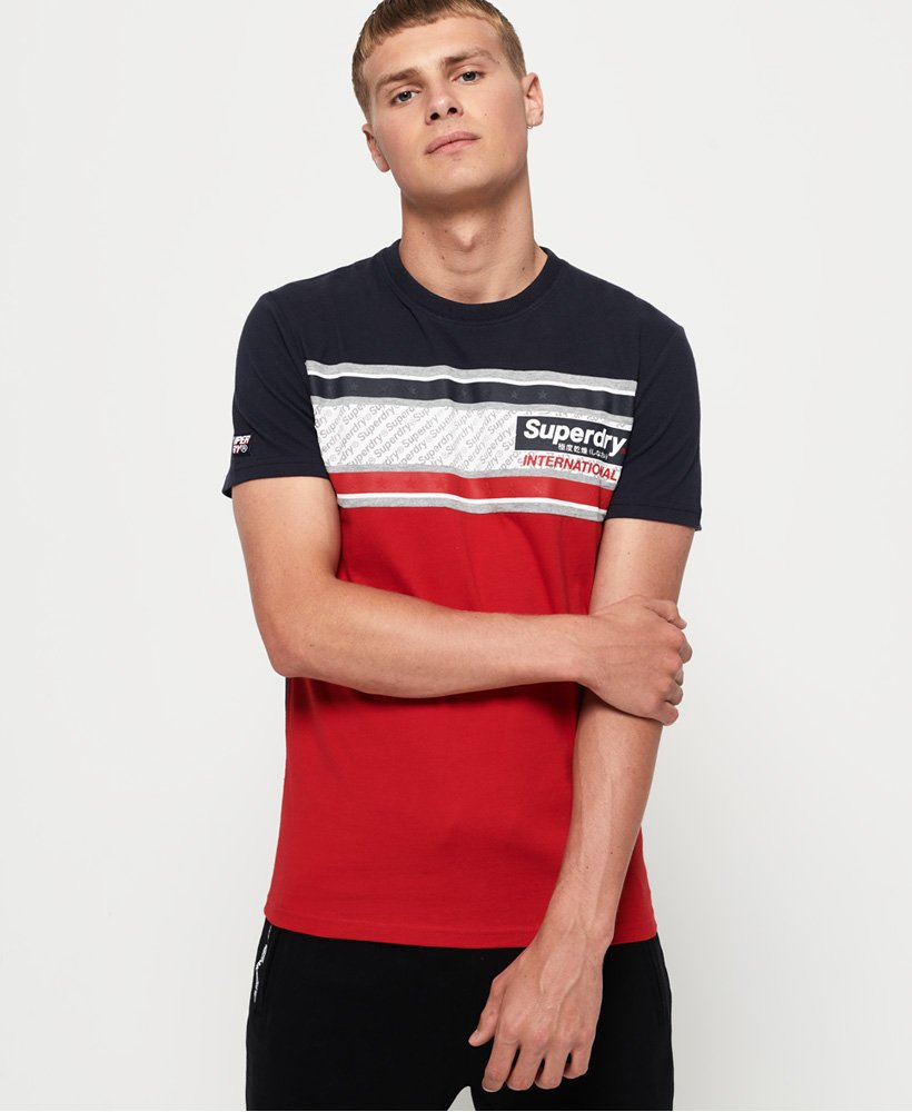 Superdry Retro Stripe T-Shirt thumbnail 1