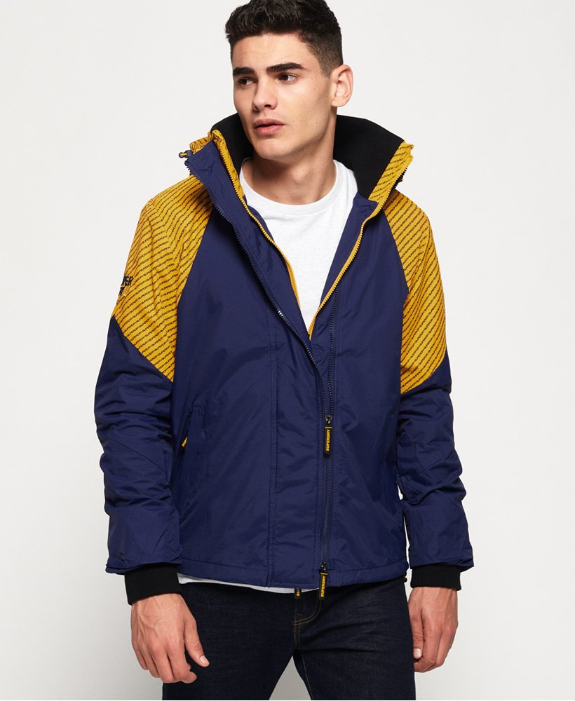 Superdry Arctic Intron Hooded SD Windcheater Jacket (Homme