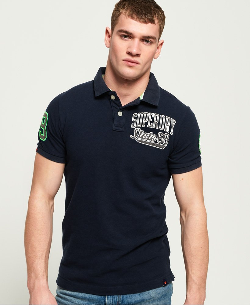 Superdry Classic Superstate Polohemd aus Pikee thumbnail 1