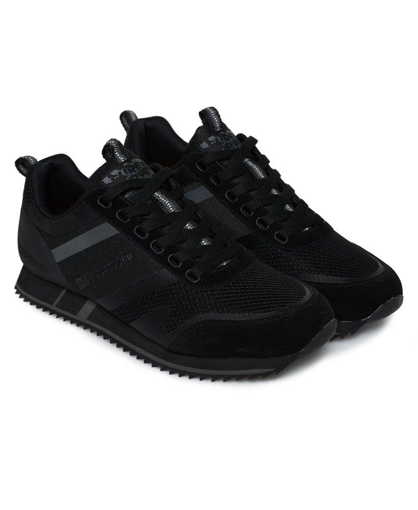 Mens - Fero Runner Trainers in Black