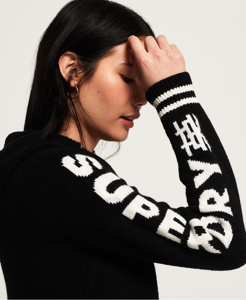 Superdry Superdry Sleeve Logo Hoodie Women's Hoodies