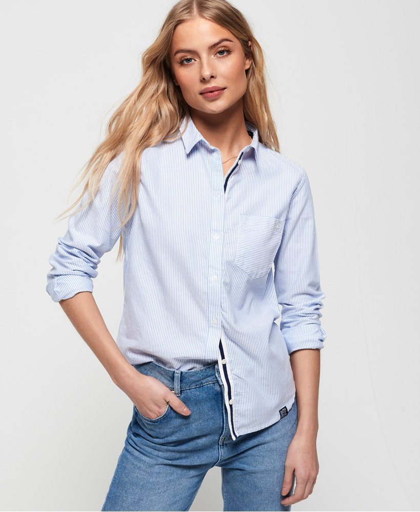 Superdry Camicia a righe Oxford thumbnail 1
