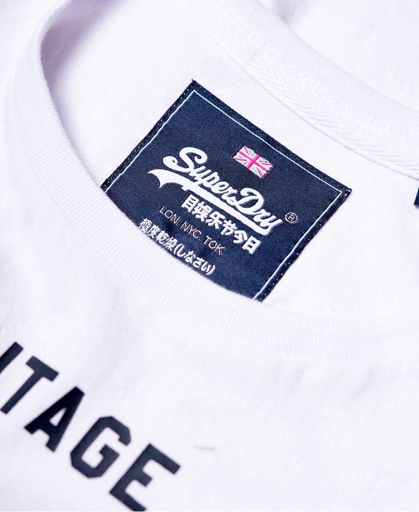 Superdry Damen T-Shirt PREMIUM GOOD PUFF ENTRY TEE Optic