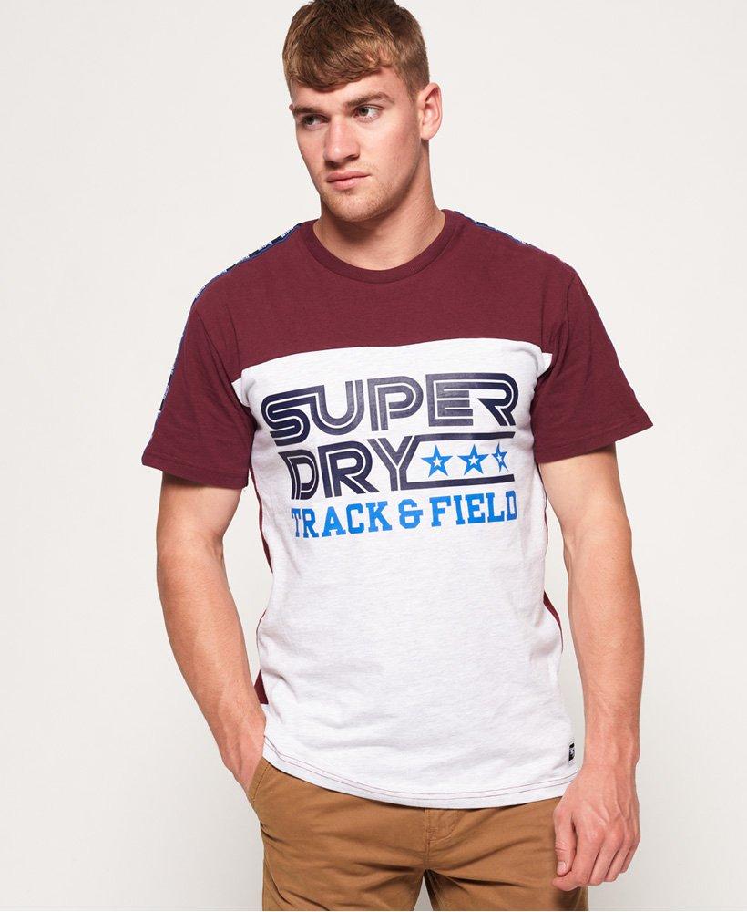 Superdry Triple Star oversized T shirt med logobånd Herrer