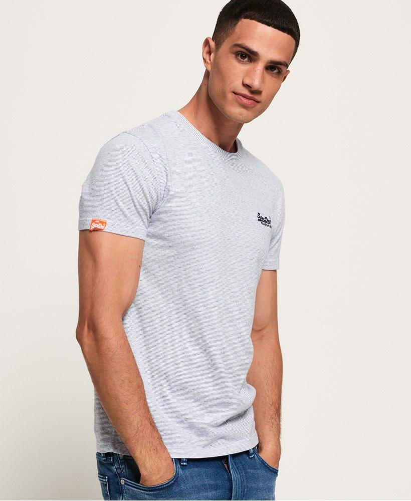 Superdry Orange Label Vintage Embroidery T-Shirt Optic Size Large XL