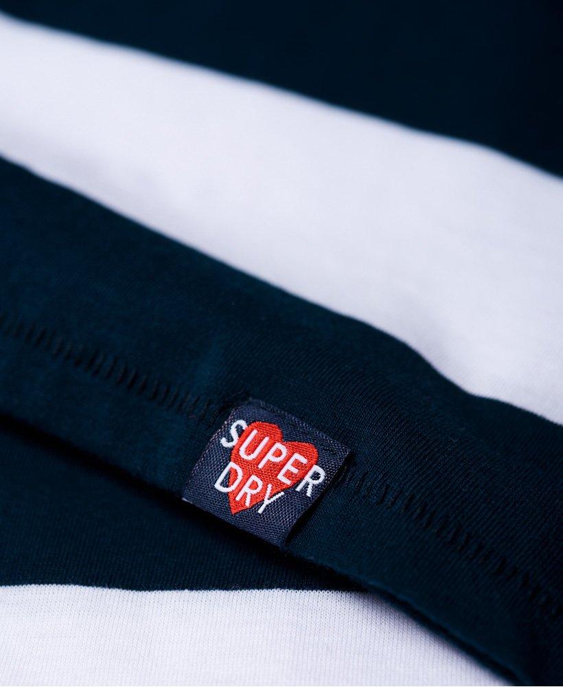 Superdry Womens Josie T-Shirt Dress Navy//White Stripe *SAME DAY DISPATCH*