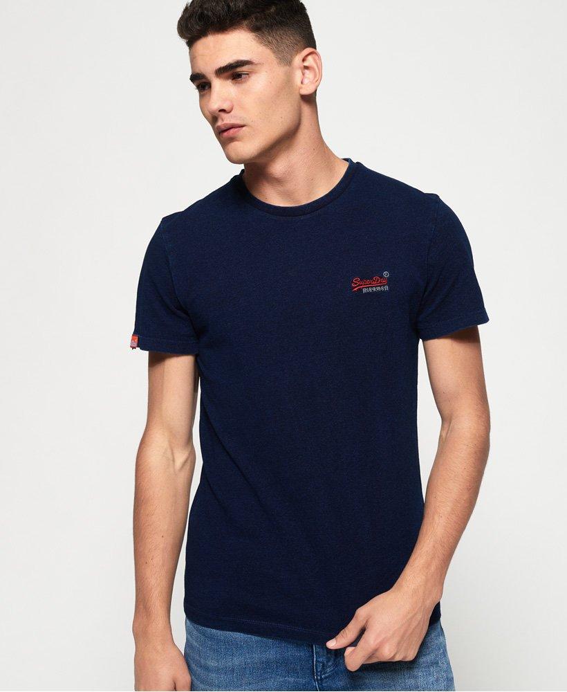Blue Superdry Men/'s Orange Label Vintage EMB T-Shirt