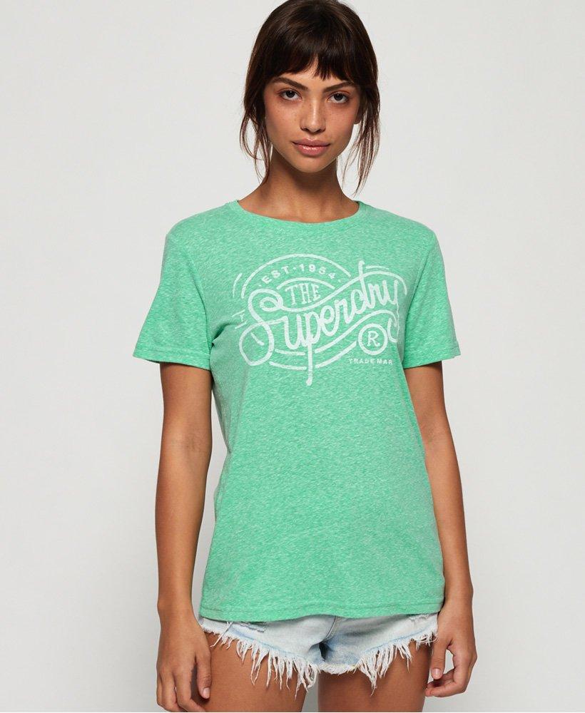 säästää online jälleenmyyjä Kivat kengät Superdry Established Trademark T-Shirt - Women's T Shirts
