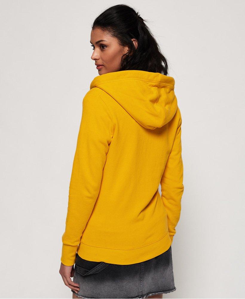 veste ornage label ocre jaune superdry