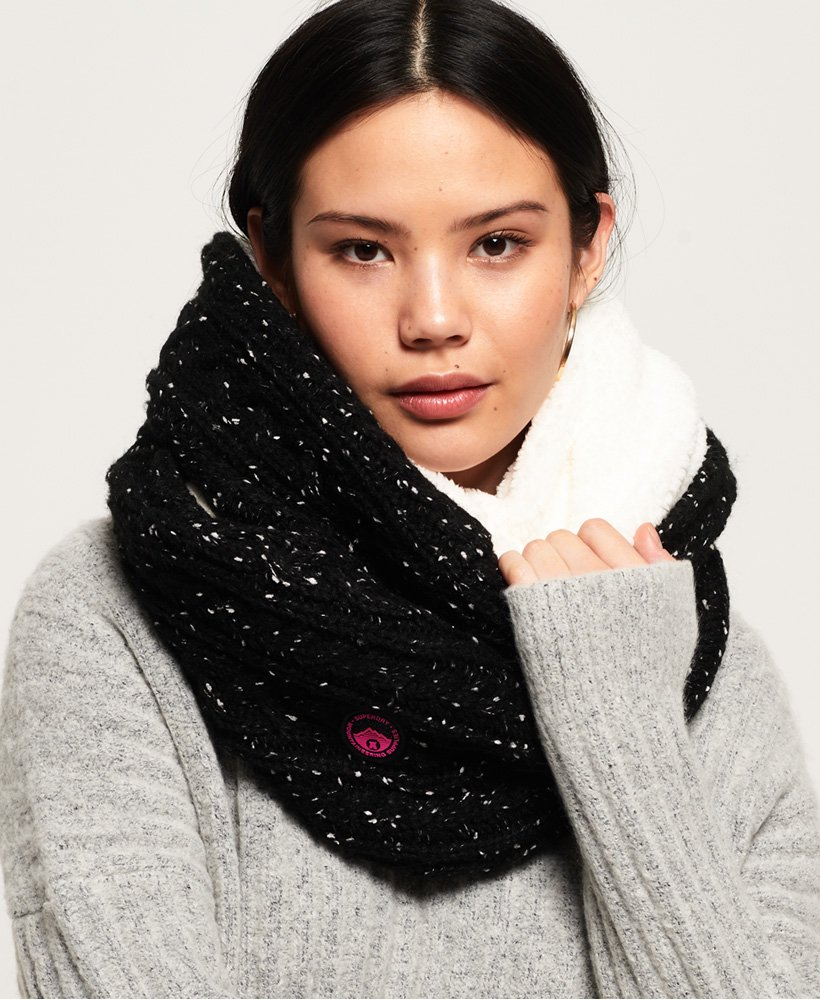 Superdry Gracie Cable Snood thumbnail 1