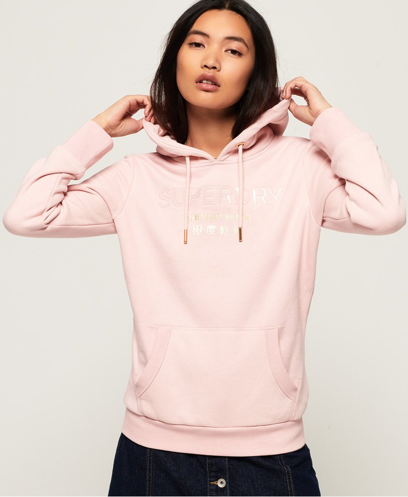 Superdry Sweat à capuche Premium Brand pour Femme