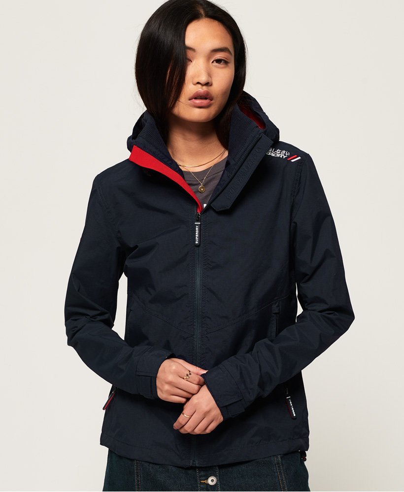 Superdry Technical Hooded Cliff Hiker Jacket thumbnail 1