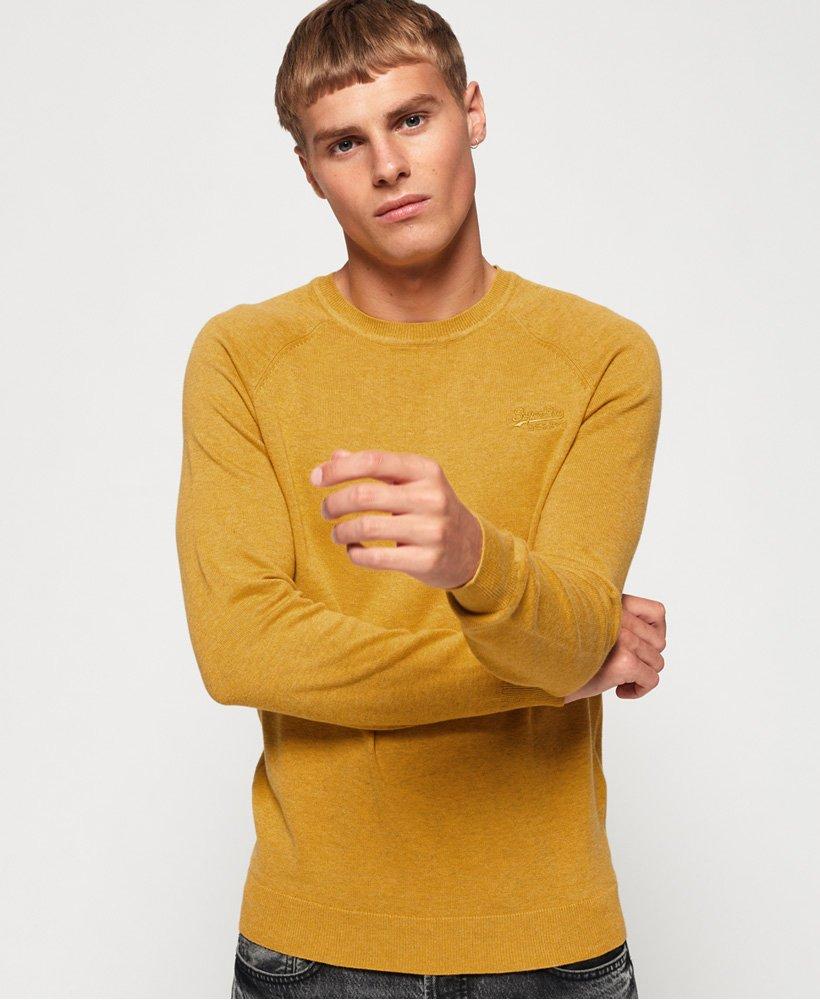 Superdry Pull ras du cou en coton Orange Label Pulls