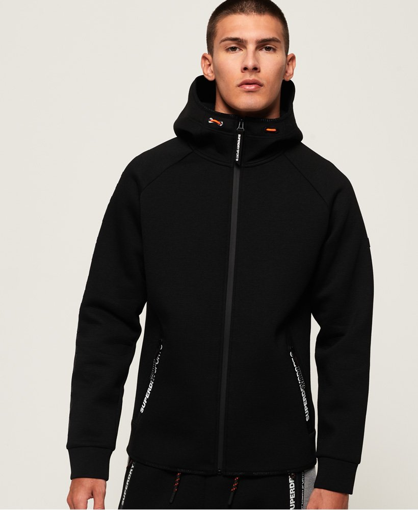Superdry Core Gym Tech Zip Hoodie thumbnail 1