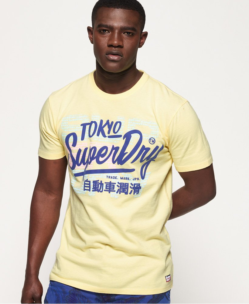 Superdry Ticket Type Pastel T-Shirt  thumbnail 1